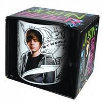 Justin Bieber My World Mug