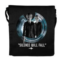 "View Item Doctor Who ""Silence Will Fall"" Folder Bag"