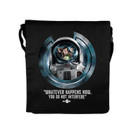"View Item Doctor Who ""Whatever Happens Now, You Do Not Interfere"" Folder Bag"