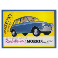 Revolutionary Morris Mini Minor Fridge Magnet