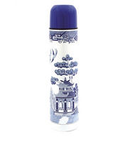 Blue Willow Pattern Vacuum Flask