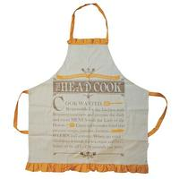 Head Cook Wanted Cotton Apron