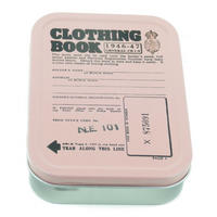 Clothing Ration Book Collectors Tin