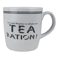 You Must Register To Obtain Your Tea Ration! Stoneware Mug