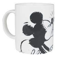 Mickey & Minnie Mouse Kissing Mug