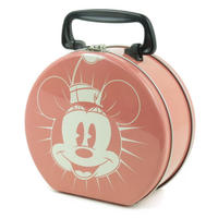 View Item Minnie Mouse Round Tin Tote/Lunch Box