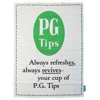 PG Tips Always Refreshes Tea Towel