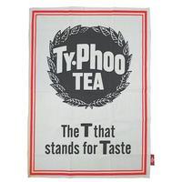 "Typhoo Tea ""The T That Stands For Taste"" Tea Towel"