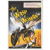 The Wasp Woman Greeting Card