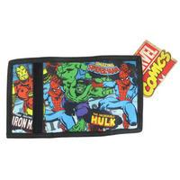 View Item Spiderman, Hulk & Iron Man Tri Fold Wallet