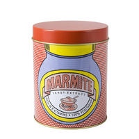 Marmite Pop Art Tin Canister Designed By The Royal College of Art.