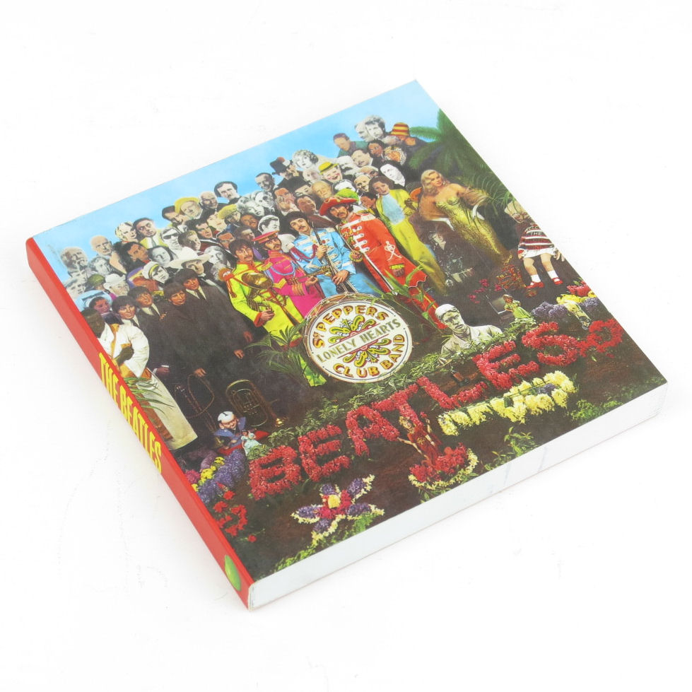 BEATLES SGT PEPPER NOTEBOOK JOURNAL VINTAGE PAD GIFT LENNON MCCARTNEY LIVERPOOL