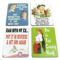 Bad Girls Coaster Set (4 Coasters)