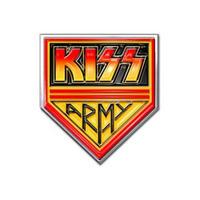 KISS Army Pennant Pin Badge
