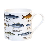 Fish Species Fine Bone China Mug