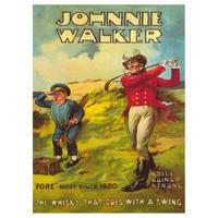 Johnnie Walker Postcard