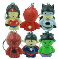 Superhero Babies Resin Keyrings