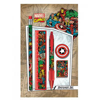 Marvel Heroes Collage Stationery Set