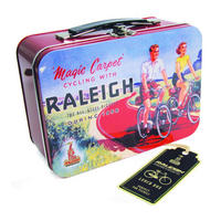 "View Item Raleigh ""Magic Carpet Cycling"" Tin Tote"