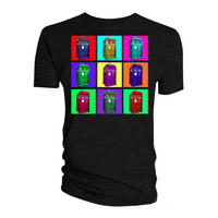 Tardis Psychedelic Squares T-shirt