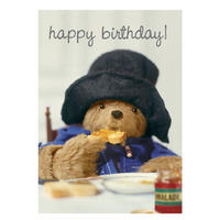 Paddington Bear Marmalade Greeting Card
