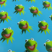 3 Sheets Of Kermit The Frog Gift Wrap