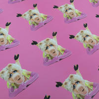 3 Sheets Of Miss Piggy Gift Wrap