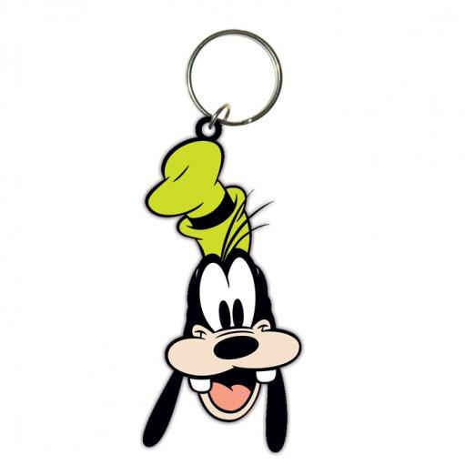 disney goofy head rubber keyring buy online