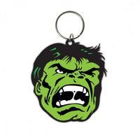 Hulk (Face) Rubber Keyring