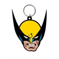 Wolverine (Face) Rubber Keyring