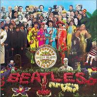 The Beatles Sgt Peppers Lonely Hearts Club Band Steel Sign Thumbnail 1