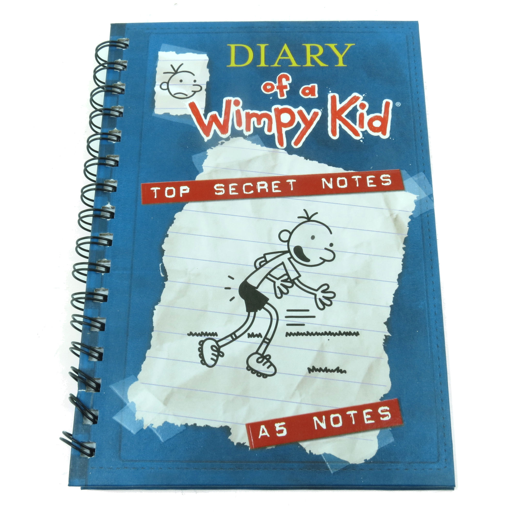 A5 diary of a wimpy kid hardback notebook journal lined paper pad a5 diary of a wimpy kid hardback notebook solutioingenieria Images