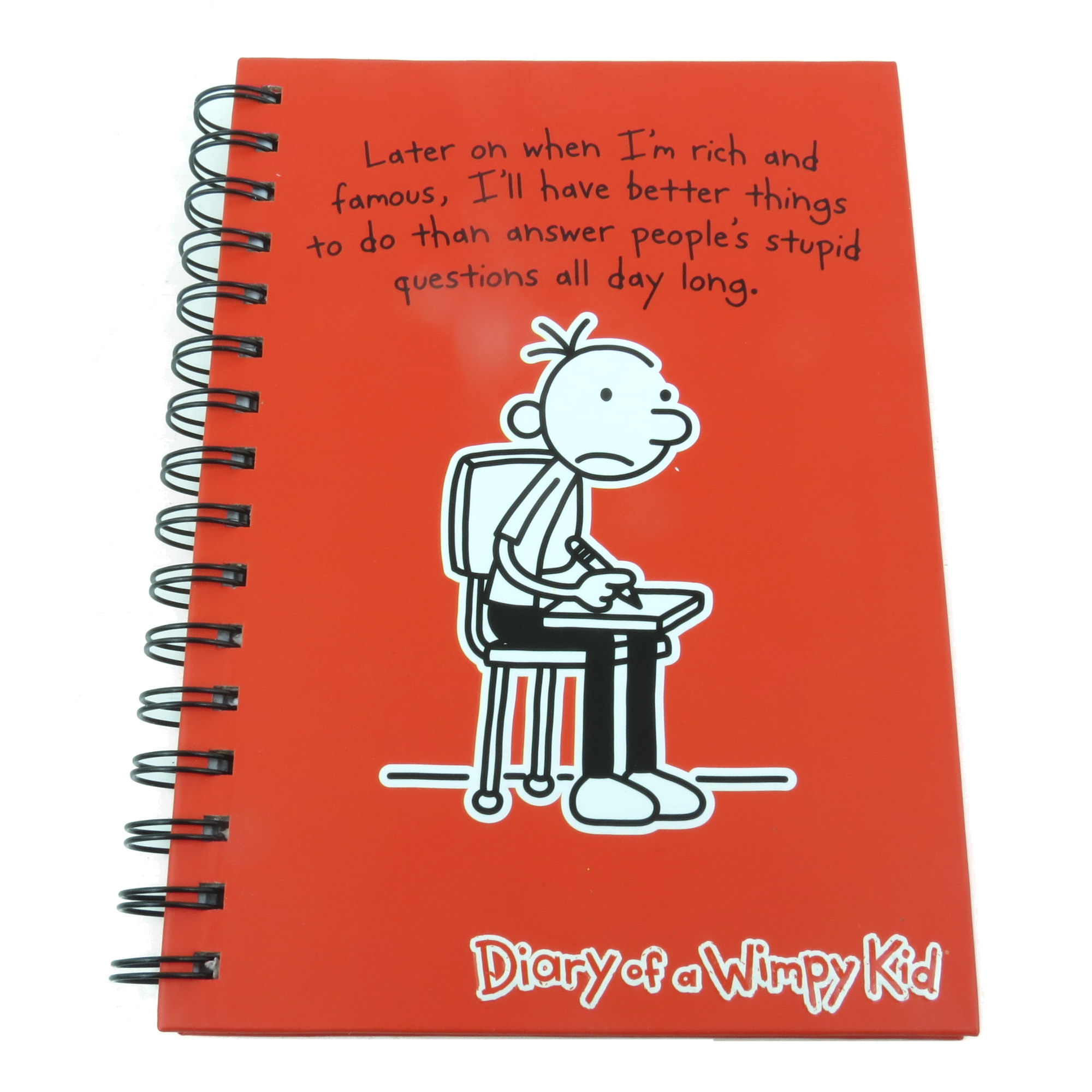 A5 diary of a wimpy kid hardback notebook journal lined paper pad a5 diary of a wimpy kid hardback notebook solutioingenieria Gallery