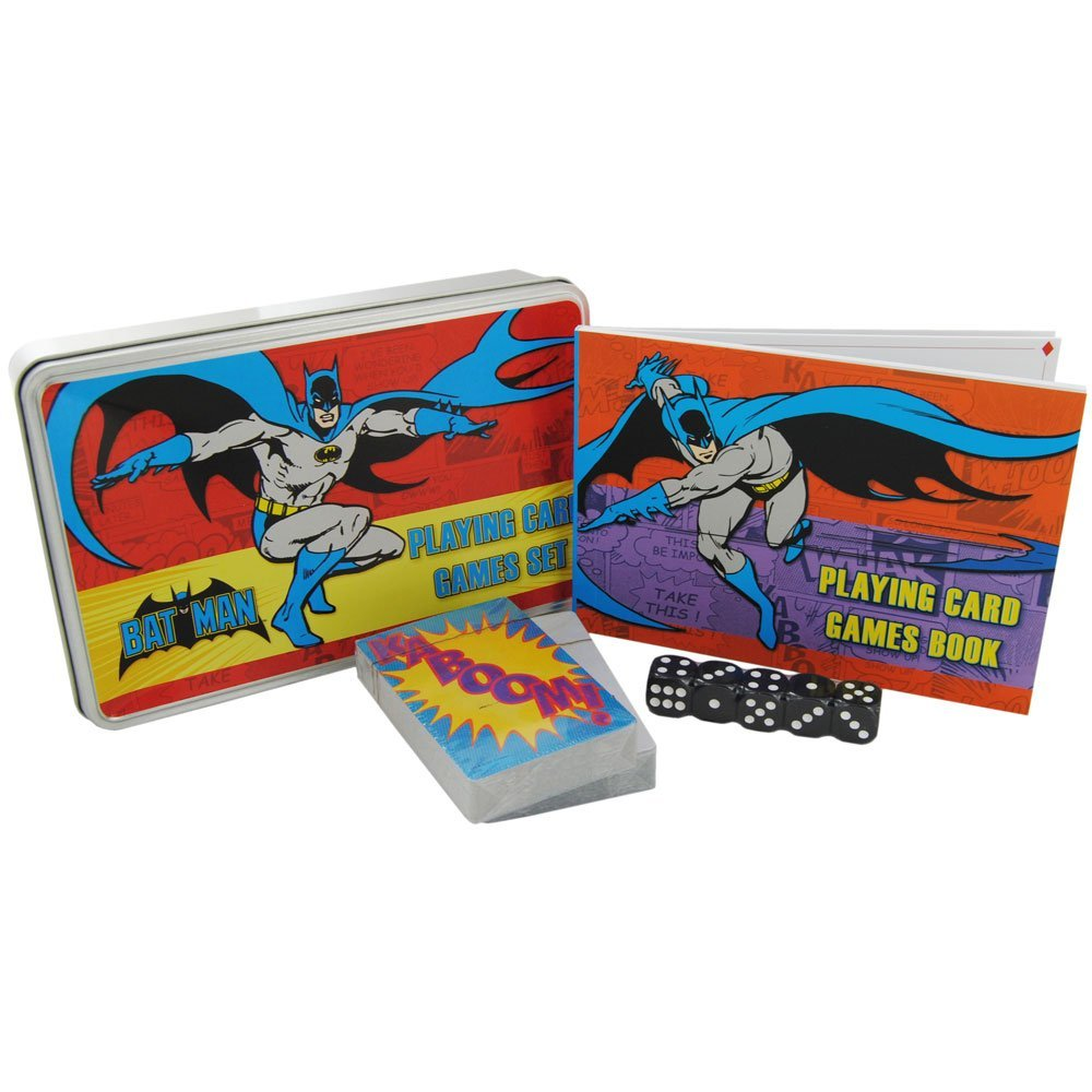 Batman Playing Card Game Set In A Tin