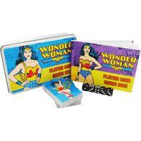 Wonder Woman Playing Card Game Set In A Tin