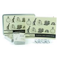 Gentleman's Emporium Playing Card Game Set In A Tin