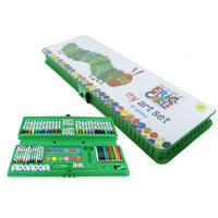 The Very Hungry Caterpillar 87 Piece Art Set Carry Case