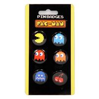 Pac-Man & Ghosts Badge Set