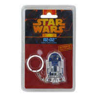 Star Wars R2-D2 Keyring With Torch And Authentic Sounds
