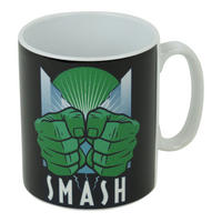Art Deco Hulk Smash Mug