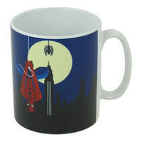 Art Deco Spider-Man Hanging Mug