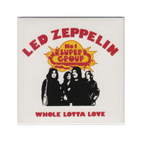 Led Zeppelin Whole Lotta Love Fridge Magnet