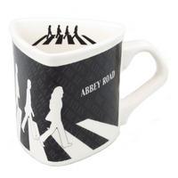 View Item The Beatles Abbey Road Triangular Mug