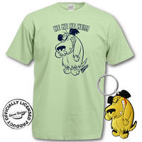 Muttley T-Shirt & Keyring Gift Set