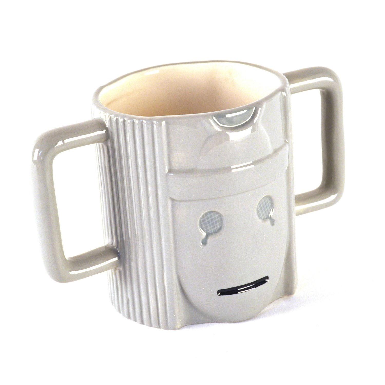Cyberman 39 S Head 3d Shaped Mug Standard Kitschagogo