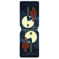 Art Deco Spider-Man Hanging Travel/Oyster Card Holder