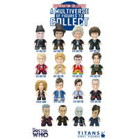 Doctor Who 3 Inch Collectible Vinyl Figures - Wave 6 Regeneration