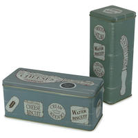 The Specialist Set Of 2 Cracker Tins