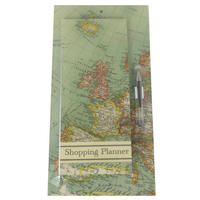 Vintage Map Magnetic Memo Pad