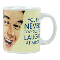 You're Never Too Old To Laugh At Farts Mug